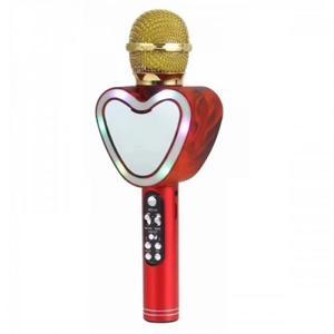 Беспроводной Bluetooth микрофон Q5 зеркальное сердце