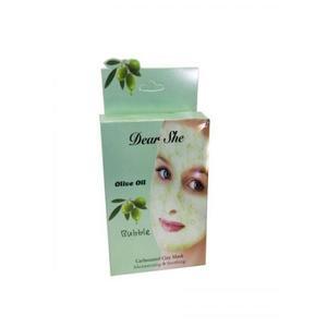 Пузырьковая маска для лица Dear She Olive Oil 10 шт