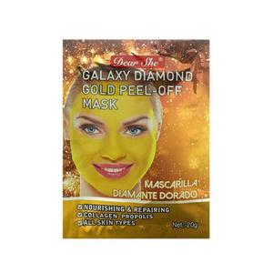 Маска-пилинг для лица Dear She Galaxy Diamond Gold Peel-Off Mask 10 шт