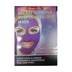 Маска-пилинг для лица Dear She Galaxy Diamond Purple Peel-Off Mask 10 шт