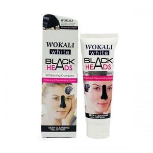 Маска-пленка для носа от черных точек Wokali Black Heads 130 мл
