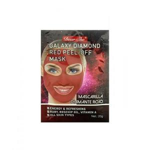 Маска-пилинг для лица Dear She Galaxy Diamond Red Peel-Off Mask 10 шт