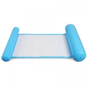 Надувной шезлонг гамак для плавания Floating Bed 130 x 73 см