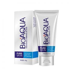 Пенка для умывания Bioaqua Pure Skin от черных точек 100 г