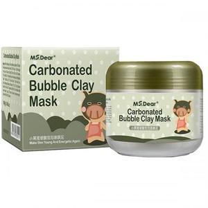 Пузырьковая маска для лица Bioaqua Carbonated Bubble Clay Mask 100 г