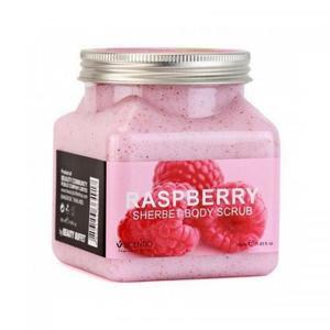 Скраб для тела Wokali Raspberry Sherbet Body Scrub 350 мл