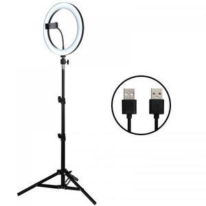Светодиодный кольцевой светильник для селфи 12W 5500K Yutube Live Video Makeup