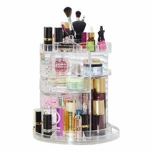 Вращающийся органайзер Cosmetics Storage Box Rotative Rack